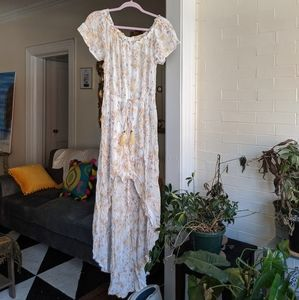 Xhilaration Floral Sun Dress Romper